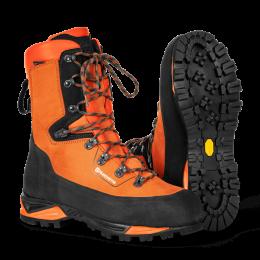 Ochronne skórzane buty Husqvarna z ochroną przed przecięciem, Technical 24 roz.43