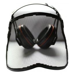 Ochronnik słuchu+twarzy(z siatką HQV)