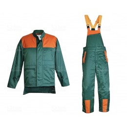 Ubranie letnie pilarza /spodnie kl 2+kurtka/ roz.L